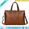 Popular Hard Genuine Leather Briefcase Hand Bag For Man