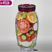 2018 hot selling jam glass jars as food/pickles/candy jar set/glass container for household products