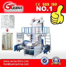 HDPE/LDPE plastic pe film blowing machine price