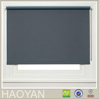 H-Y different roll type blackout window screen polyester outside curtain