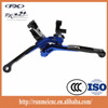 customized 6061T aluminium cnc motorcycle parts folding extendable lever
