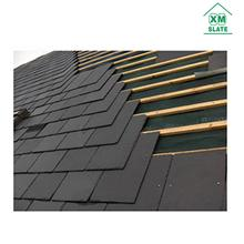 [factory direct ] 40x25cm Natural black slate roof tiles roofing slate