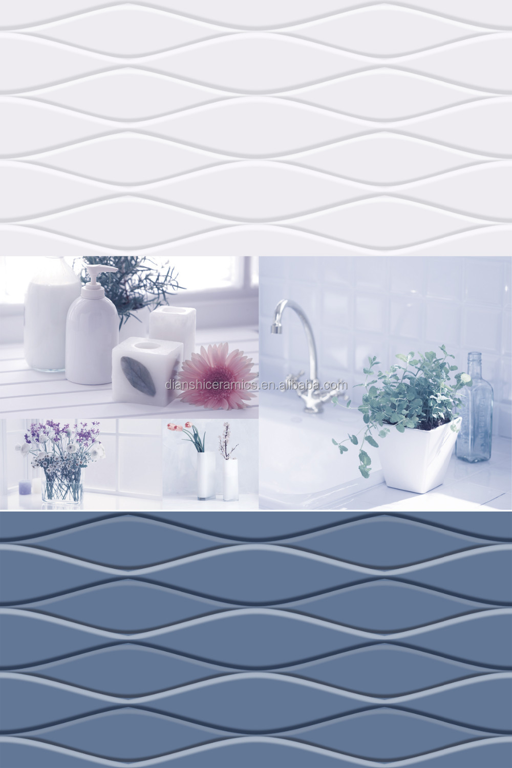 living rooms interior wall tile design,3d kitchen wall tile , toilet ...
