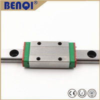 Popular circular linear motion guide 220mm length with a block MGN12C
