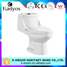Porcelain water closet indian style bathroom siphonic one piece toilet KD-T030P