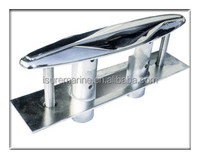 "316 STAINLESS STEEL PULL-UP CLEAT 8"" Length / POP-UP FLUSH MOUNT LIFT- Boat/Marine"