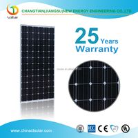 High efficiency high quality competitive price per watt mono 300w solar panel 300watt solar panel for sale
