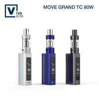 Colored LCD screen newest 80W VT Ni|Ti|SS316L|NiCr coil subohm unic vaporizer