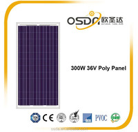 300w poly solar module with good price