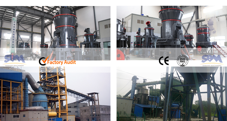 SBM High Capacity CE Certification cement vertical roller mill