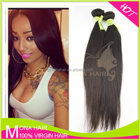 Unprocessed Wholesale 100 Percent Indian Remy Human Hair