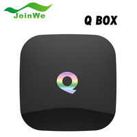 Q BOX Google PlayStore 2GB/16GB Amlogic S905 Quad Core QBOX 2.4G/5GHz Dual WiFi BT4.0 Gigabit LAN KODI Andorid 5.1 TV Box