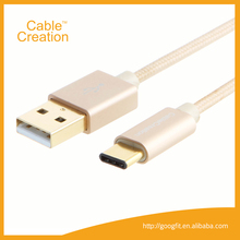 Short Type C (USB-C) to Standard USB 2.0 A Male Charger Cable for Apple The New Macbook Chromebook Pixel