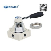 china product airtac type manual operate hand switching pneumatic control valves