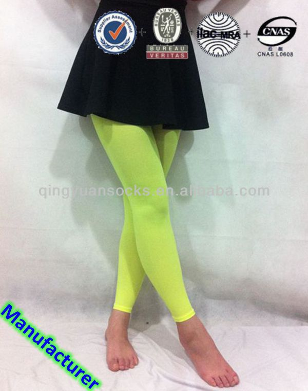 2014 Hot Selling Fluorescent Colors Custom Wholesale Women Leggings on Factory Price/Sexy Ladies Girls Women Photos Legging