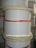 3/5mm 6/8mm 7x7 7x19 PVC Coated Stainless Steel Wire Rope and Cable