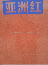 Asia polished red granite floor tiles from sichuan yaan
