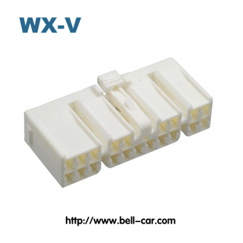 PCB connector 8 pin wire connector white 22-01-3087