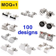 Chinese cufflink manufactory mens cufflinks findings