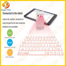 2014 NEWEST laser virtual keyboard bluetooth IOS Android mobile phone for macbook for ipad 1 2 3 4 air mini 2---SUPER ERA