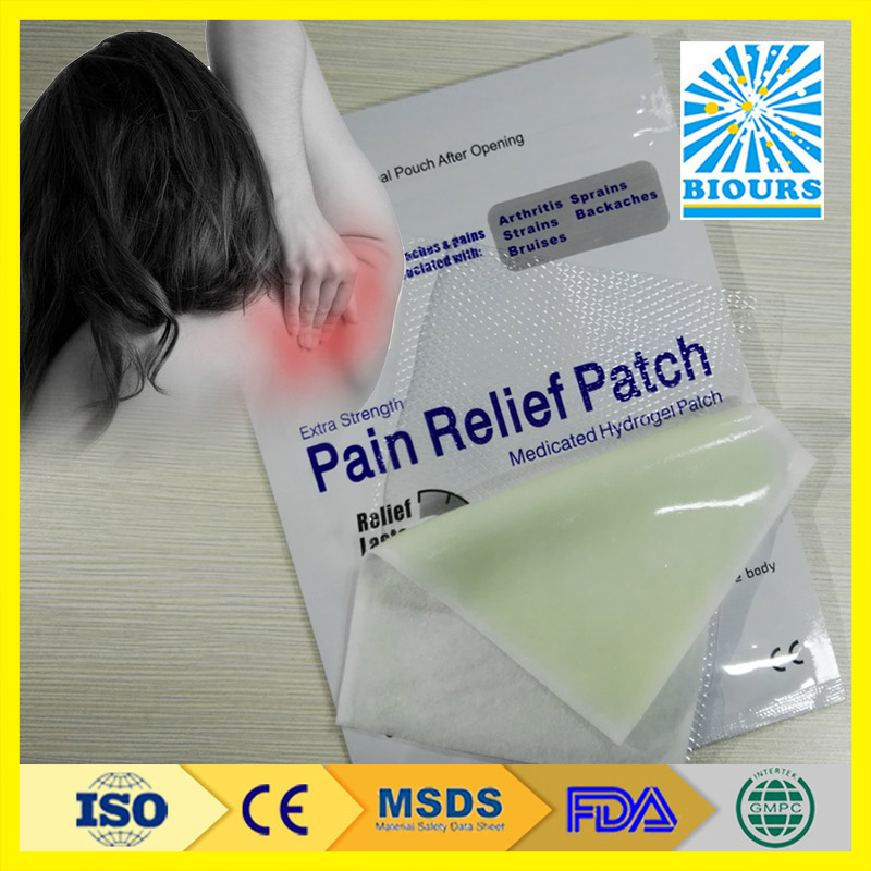 Best Selling Products Hydrogel Chinese Muscle Acupuncture Pain Relief Patch