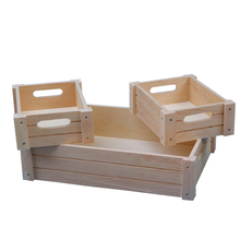 vintage wooden crates wholesale cheap wooden fruit /wine / vegetable crates for sale