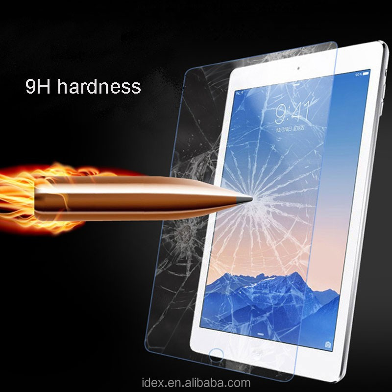 9H Anti-blue ray Anti-scratch touch screen protector for Apple iPadmini4