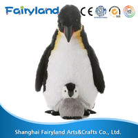 Mama And baby penguins for sale costume soft toy