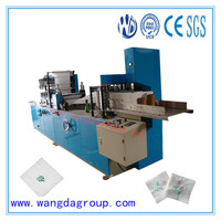 CNC Processing Automatic Counting Paper Napkin Tissue Machine Manufacturers