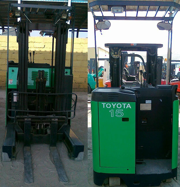 1.5 Ton Used Toyota Electric Reach Truck