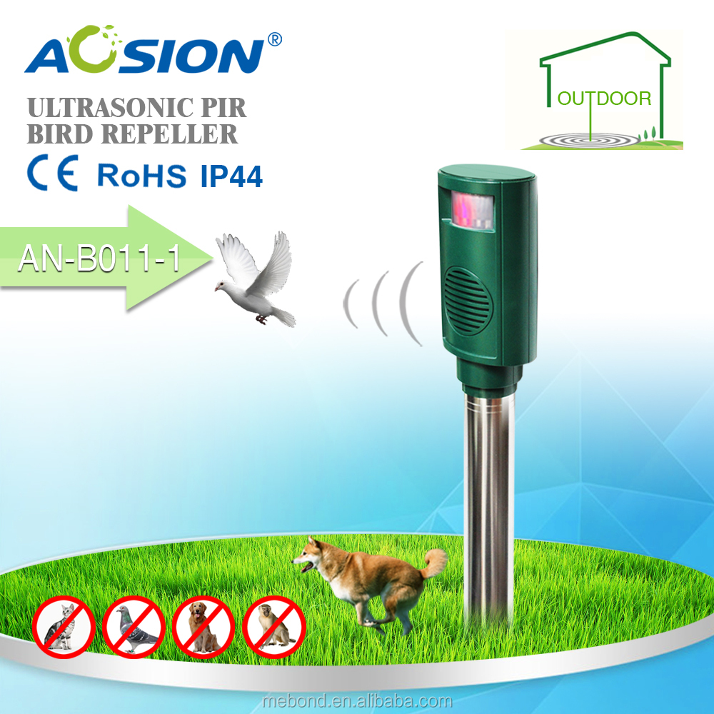 Waterproof Outdoor Ultrasonic Pig Cat Foxes Dog Birds Repellent
