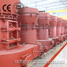 400 meshes gypsum limestone 3 tph YGM75 High pressure grinding mill price for sale