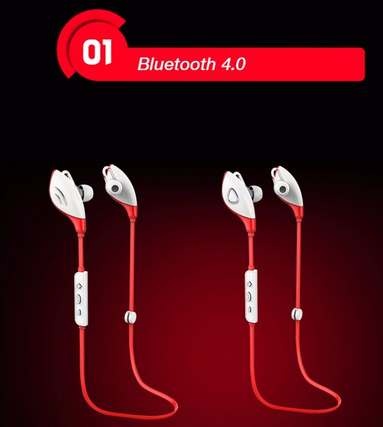 Fashion Sport High Quality Stereo Sound Wireless Earphone BT