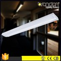 China Factory Dimmable streamline T5/T8 Fluorescent LED ceiling Wraparound Fixtures