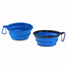 Eco Friendly Silicone Collapsible Pet Dog Bowl