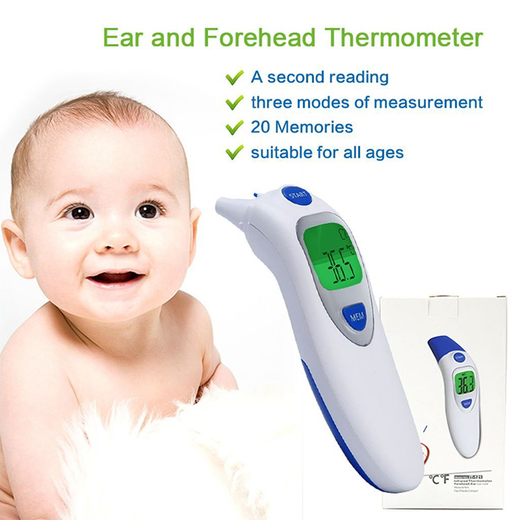 2018 Best Child and baby FDA approved digital clinical thermometer