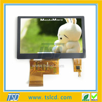 IPS 4.3 inch lcd 480*800 resolution capacitive touch screens tft lcd