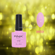 guangzhou color uv gel products skin color&glitter