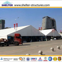 wholesale large aluminum frame canopy tent warehouse in guangzhou