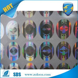 Cheap & Custom Security custom 3d hologram label sticker printing machine