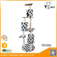 Fashion Designer Excellent Material pet house cat tree canada