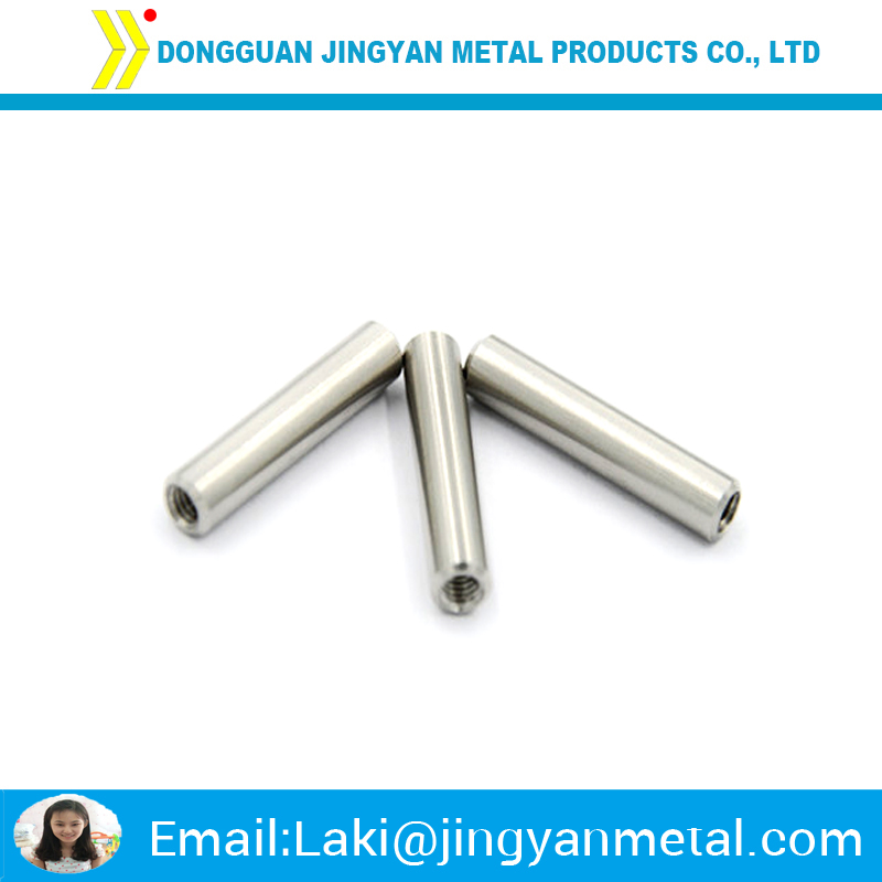 High quality precision customized aluminium internal threaded tube
