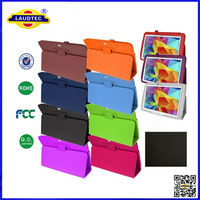 Lichi Pattern Stand Leather Case for Samsung Galaxy Tab 4