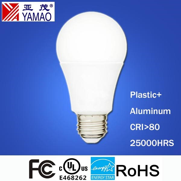 Yamao UL Listed Energy Star Certification 100W Equivalent Estar 1600lm 3000K 14.5W A19 LED Bulb Lamp