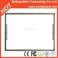 "CE, FCC, RoHS and ISO9001:2008 certified 86"" MolyBoard infrared interactive touch board"