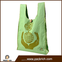 High Quality recycled foldable portable customized eco heavy canvas tote bag