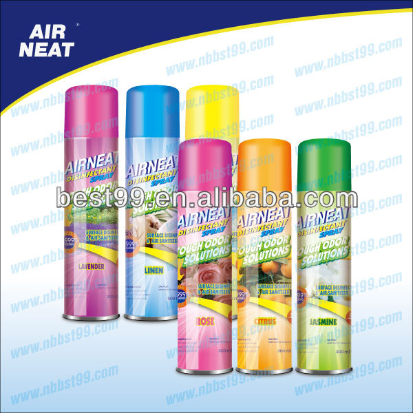 300ml disinfection spray air freshener aerosol spray Kill 99.999% bacteria