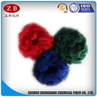 3D*51mm PSF solid polyester fiber for felt