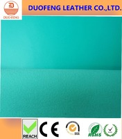 100%PU little sheep grain synthetic leather 0.8mm