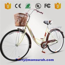 3 wheel bike 24 inch sigle/6 speeds adult cargo tricycle family bike bicycle/city bike/carrier bike GW7001